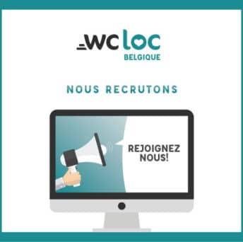 WCLoc Belgique recrute un commercial!