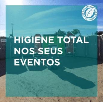 Equipamentos para eventos que garantem a higiene total do local
