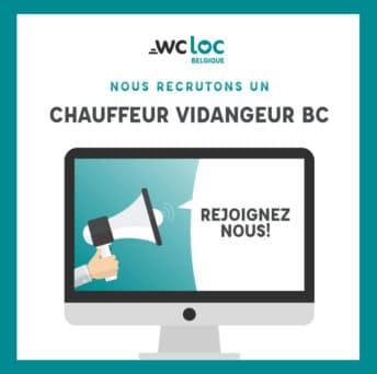 WCLoc Belgique recrute un responsable technique