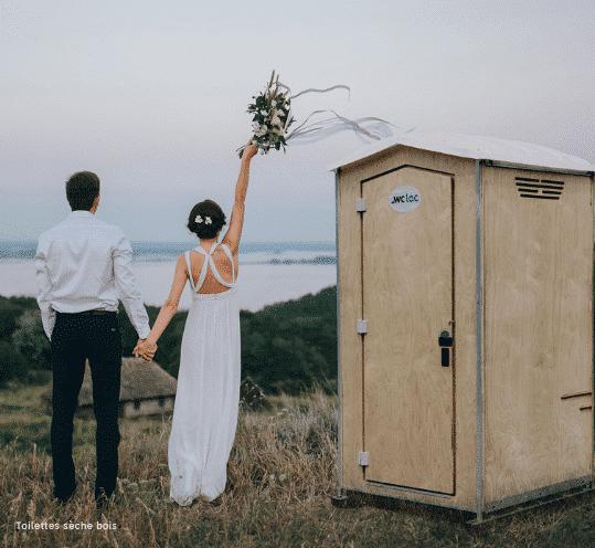 Toilettes sèches mariage WC Loc