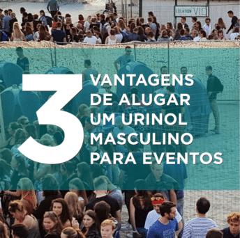 3 vantagens de alugar um urinol masculino portátil para eventos